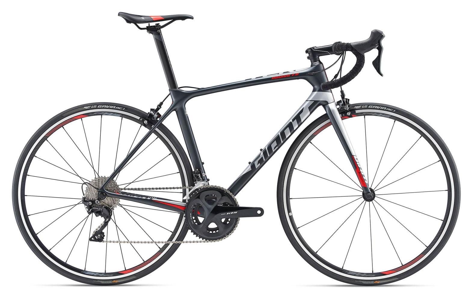 cf6dd2d78ba 2019 Giant TCR Advanced 2 Road Bike in Black €1,849.00